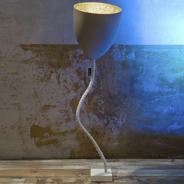 Flower Cemento Floor Lamp