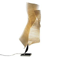 Ysmen Floor Lamp (Stainless Steel/Natural Paper) - OPEN BOX
