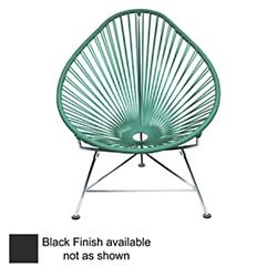 Acapulco Chair (Turquoise/Black) - OPEN BOX RETURN