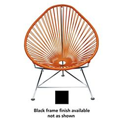 Acapulco Chair (Orange/Black Finish) - OPEN BOX RETURN