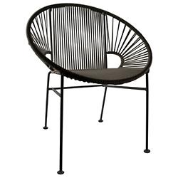 Concha Chair by Innit Designs (Black/Black) -OPEN BOX RETURN