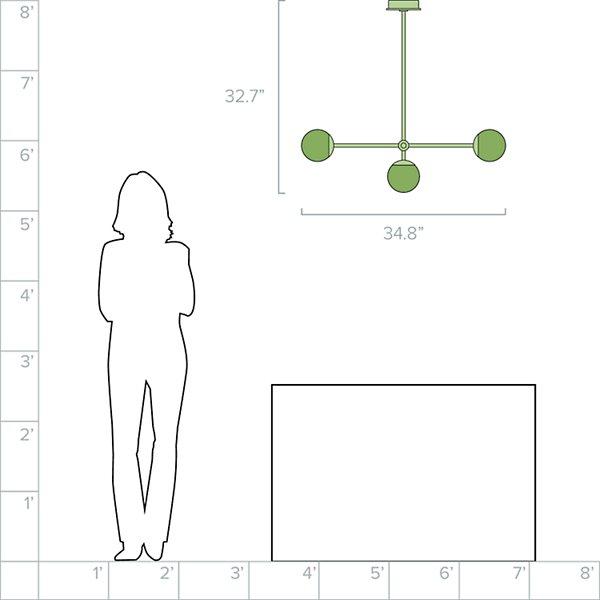 Pure T-3 Linear Pendant