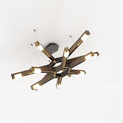 Cubi LED 2-Tier Chandelier