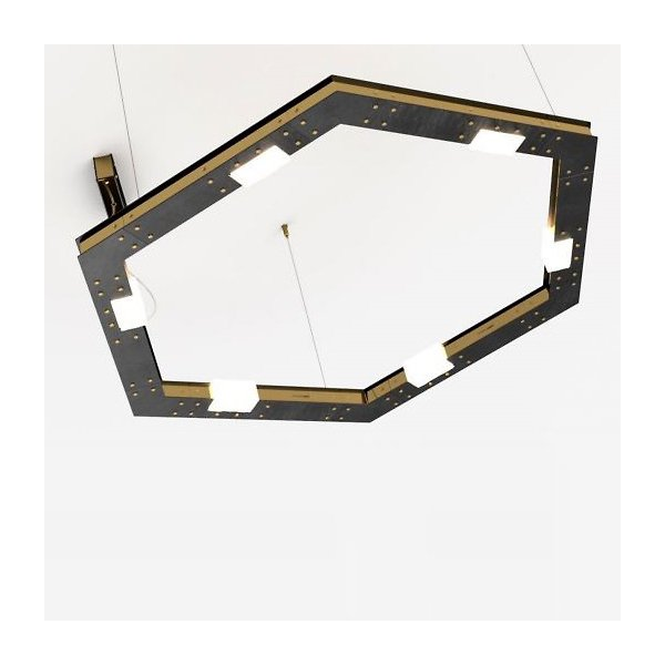 Cubi Large LED Chandelier