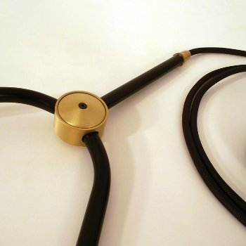 Shown in Black finish with Black Cord