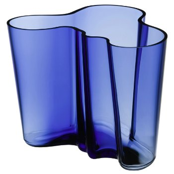 Aalto Vase Ultramarine By Iittala At Lumens