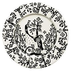 Taika Salad Plate - Black