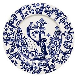 Taika Salad Plate - Midnight Blue