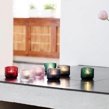 Kastehelmi Emerald Tealight Holder collection