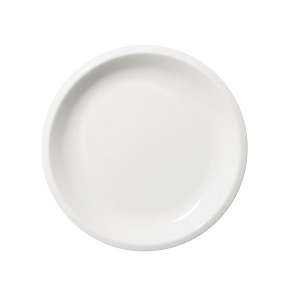 Raami White Salad Plate