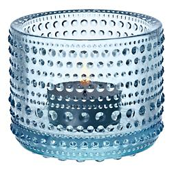 Kastehelmi Tealight Candleholder (Light Blue) - OPEN BOX