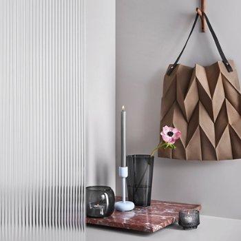Nappula Candleholder with Aalto Finlandia Vase