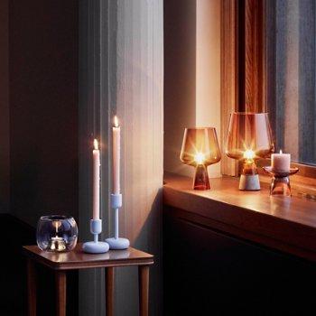 Nappula Candleholder with Nappula Pillar Candleholder