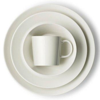 Teema Dinner Plate with Teema Mug and Teema Salad Plate