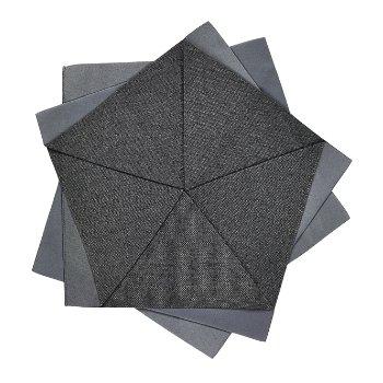 Shown in Dark Grey - 10.8 in