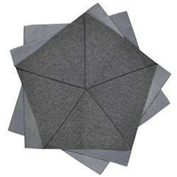 Iittala X Issey Miyake Table Flower (Dark Grey)-OPEN BOX