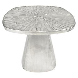 Talitha Side Table (Antique Silver) - OPEN BOX RETURN