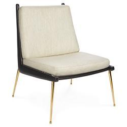 St. Germain Slipper Chair