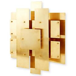Puzzle Sconce (Antique Brass) - OPEN BOX RETURN