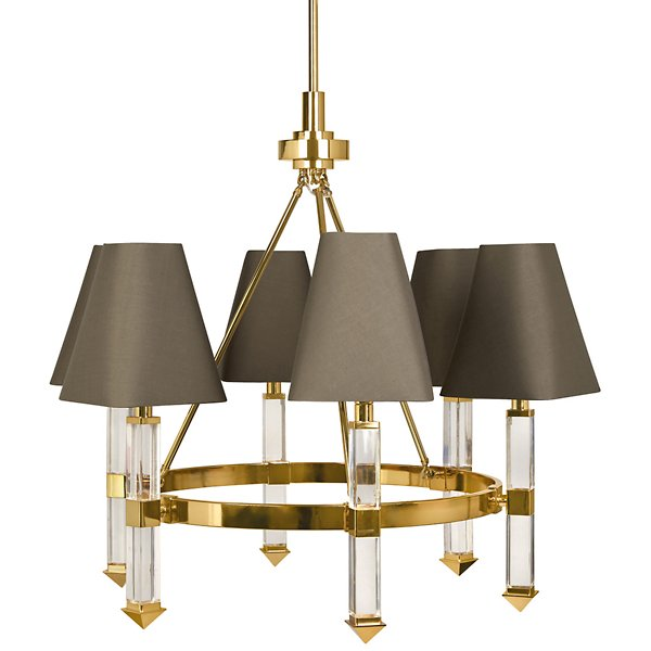 6 Light Chandelier By Jonathan Adler
