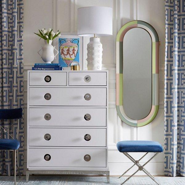 Harlequin Capsule Mirror
