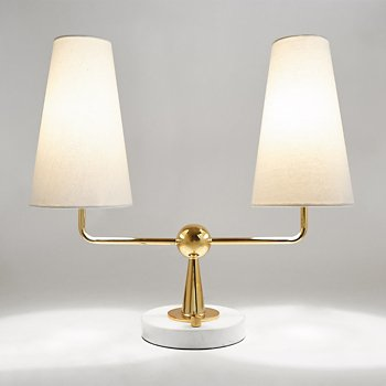 Caracas 2-Light Table Lamp