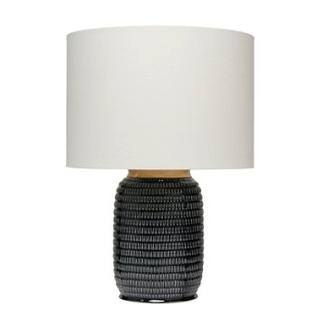 Shown in Dark Navy color with Cream Linen shade