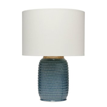Shown in Blue color with Cream Linen shade
