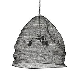 Spring Weave Dome Pendant