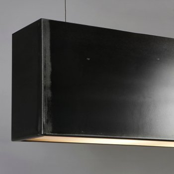 Shown in Natural Black finish
