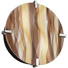 3form Clips 12 Inch Round Ceiling/Wall Light