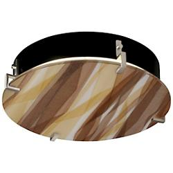 3form Clips 16 Inch Round Ceiling/Wall Light