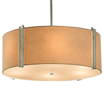 Drum Pendant By Justice Design Group