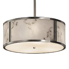 LumenAria Tribeca Drum Pendant Light