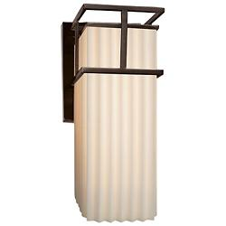 Porecelina Structure Outdoor Wall Sconce