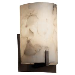 Alabaster Rocks! Century Wall Sconce (Bronze) - OPEN BOX