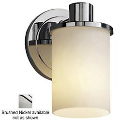 Fusion Rondo Wall Sconce (Brushed Nickel) - OPEN BOX RETURN
