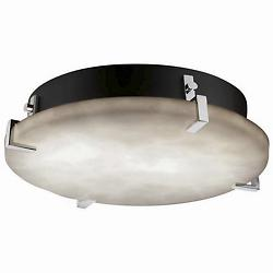 Clouds Clips Round Ceiling/Wall (Chrome/Med/LED) - OPEN BOX