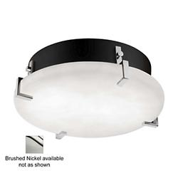 Clouds Clips Round Ceiling (Nickel/Small/LED) - OPEN BOX