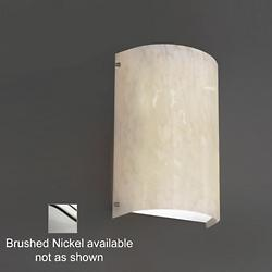 Fusion Finials LED Wall Sconce (Droplet/Nickel) - OPEN BOX