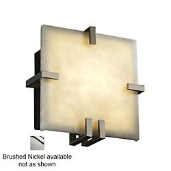 Clouds Clips Square Wall Sconce (Brushed Nickel) - OPEN BOX
