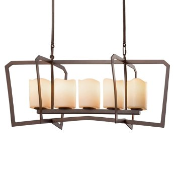 CandleAria Aria 5 Light Linear Suspension
