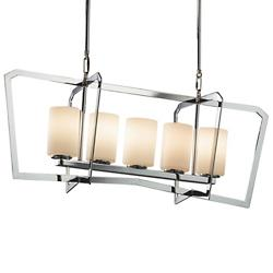 Fusion Aria 5 Light Chandelier