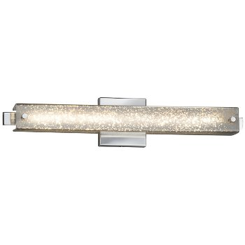 Shown in Brushed Nickel finish with Mercury Shade, 23-Inch