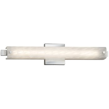 Shown in Brushed Nickel finish with Weave Shade, 23-Inch