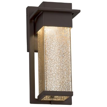 Shown in Dark Bronze finish with Mercury Shade, Small size