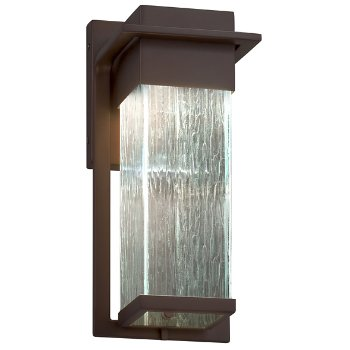 Shown in Dark Bronze finish with Rain Shade, Small size