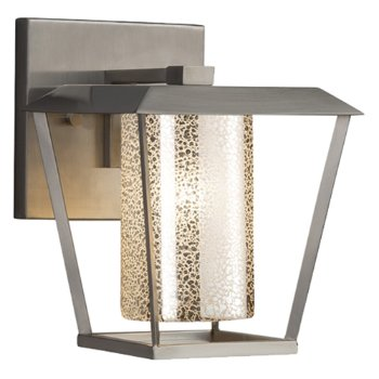Shown in Brushed Nickel finish with Mercury Shade