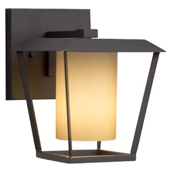 Shown in Matte Black finish with Almond Shade