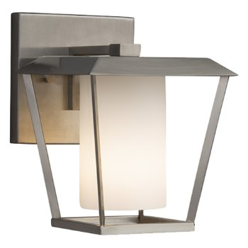 Shown in Brushed Nickel finish with Opal Shade